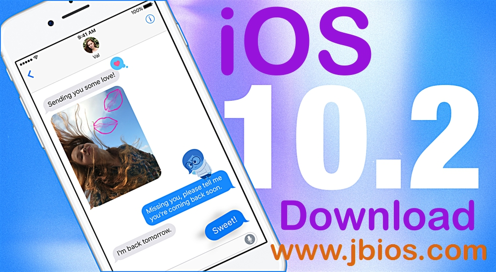 Download iOS 10.2 , the Latest Apple Update Now.
